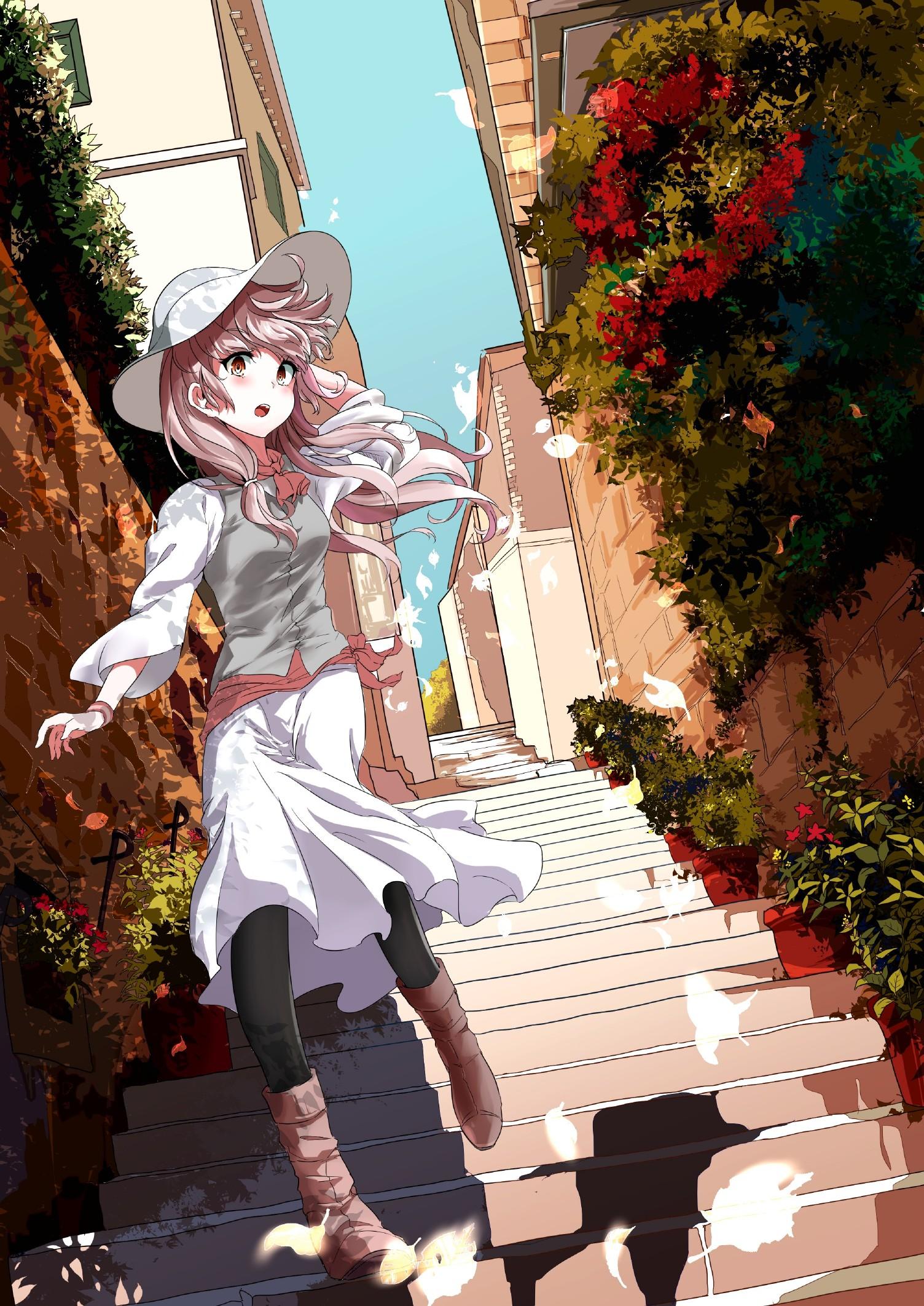 【2次】建物や街並みが描かれてる美少女二次画像【非エロ】
