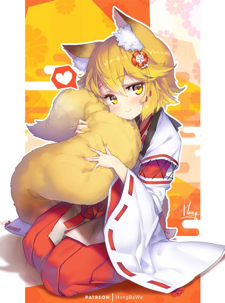【2次】狐耳っ娘の可愛いエロ画像 その2