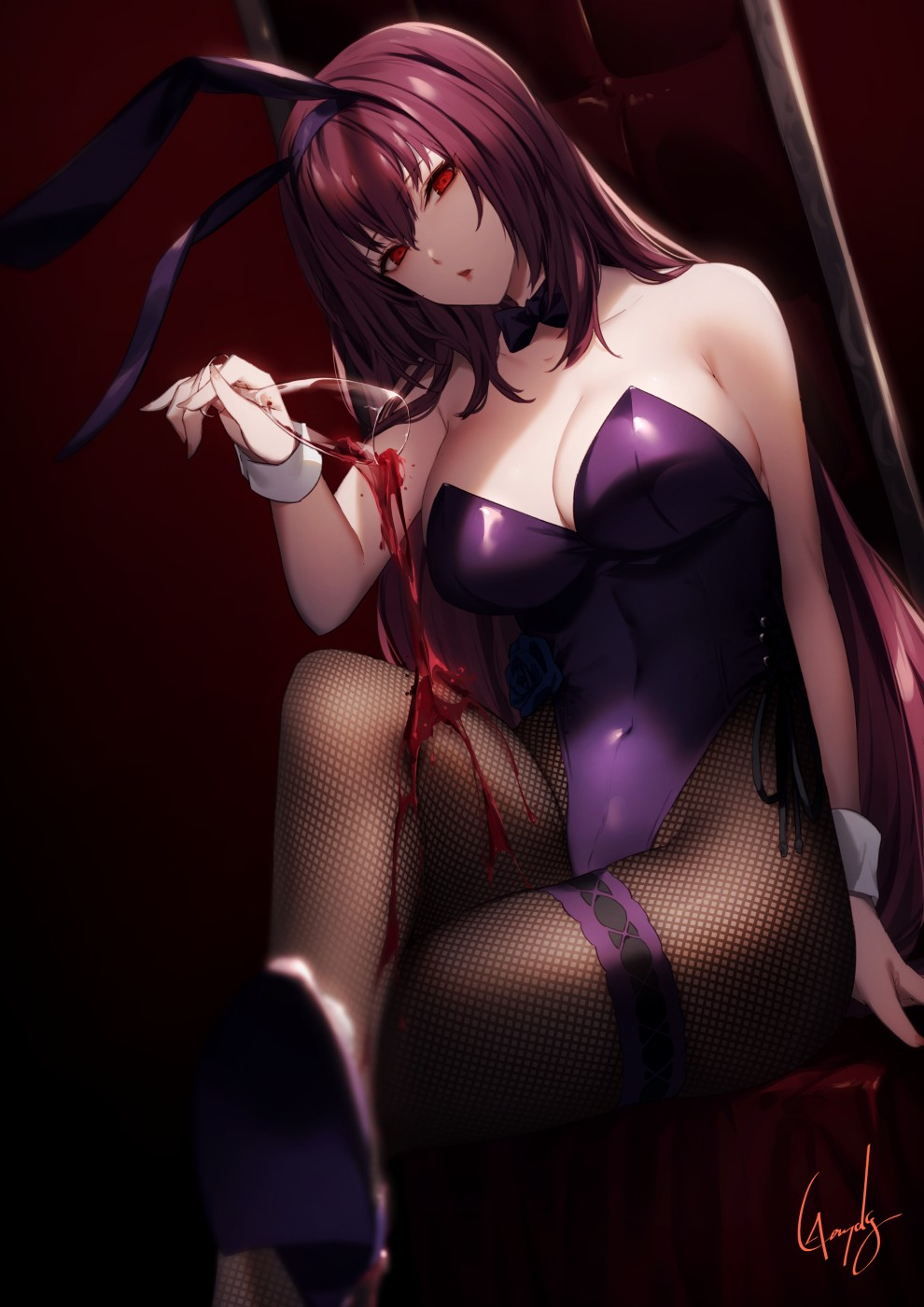 【2次】Fateシリーズのスカサハ師匠の可愛いエロ画像その2
